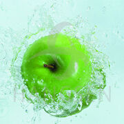 Grön Äpple
